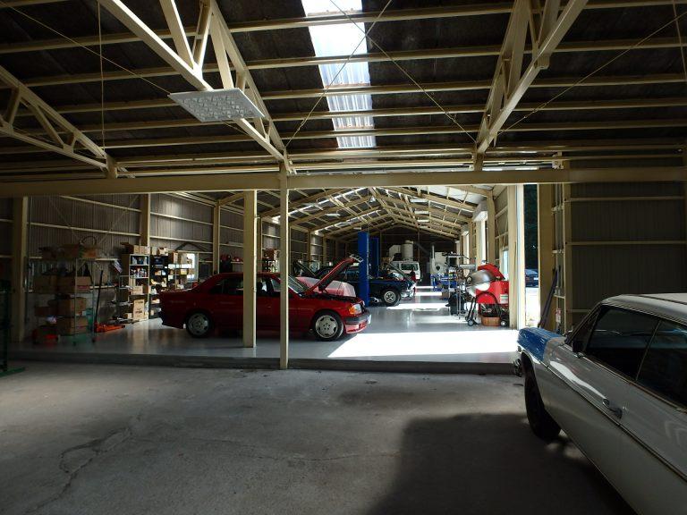 クラシックカー整備、スーパーカー整備