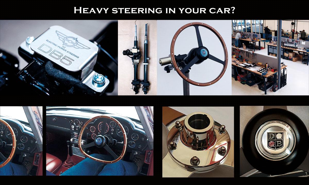 クラシックカー専用ステアリングの販売と取付及びアップデートVirage